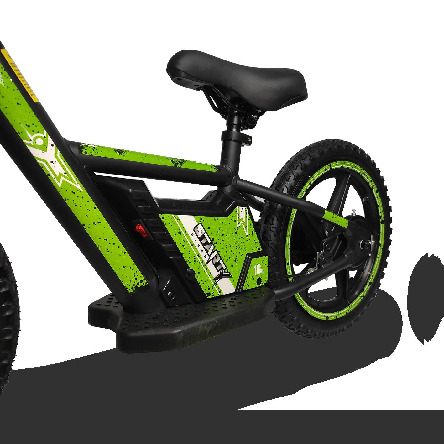 Cuado de bici eléctrica para niños